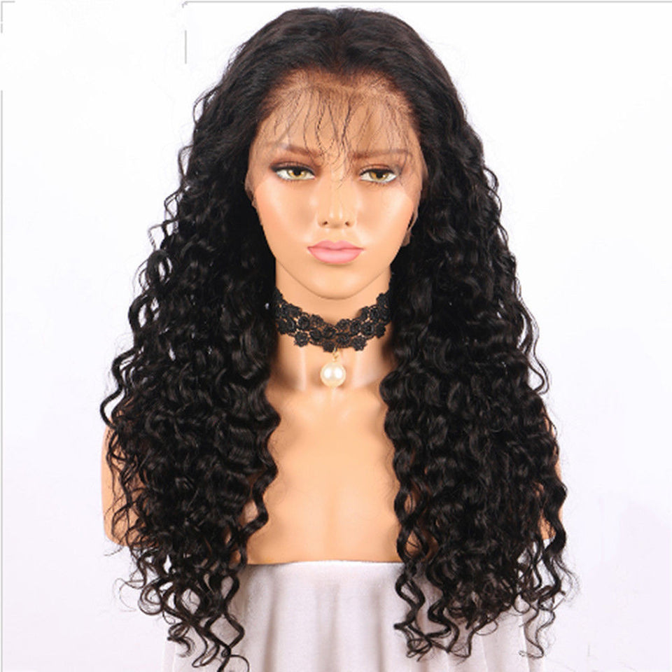18inch Pre Plucked Lace Front Wig