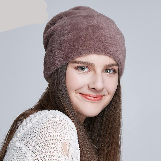 Wool Soft Thick Cap