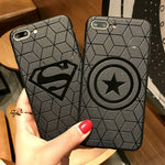 Marvel Avengers Captain America Shield Superhero Case for iPhone