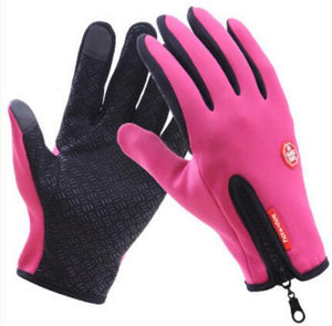 Quesharp  Outdoor Touch Screen Waterproof Anti-slip Gloves
