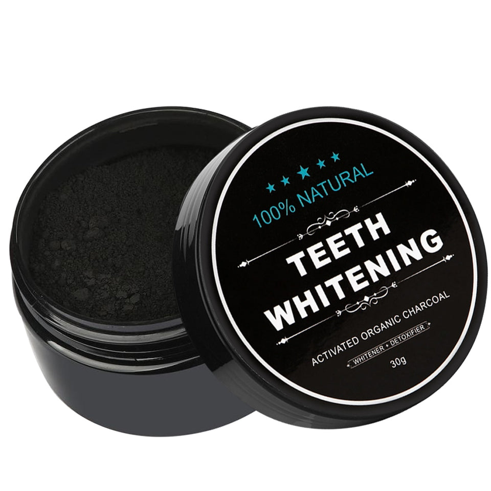 30g Activated Bamboo Natural Teeth Whitening Charcoal Powder
