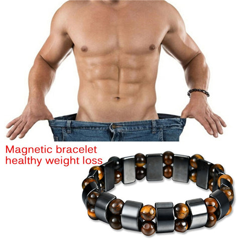Hot Sale! Twisted Magnet Health Slimming Bracelets & Bangles Jewelry Bio Magnetic Bracelet Charm Bracelets For Men Weight Loss