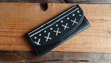 Load image into Gallery viewer, Mudcloth & Leather Wallet