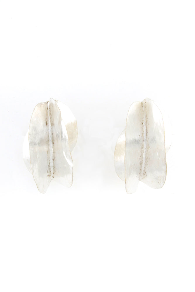 Sterling Silver Fulani Earrings