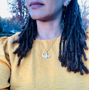 Egyptian Goddess Isis Necklace