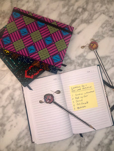 Ghanaian Ankara Cloth Covered Journals - Lined and Unlined