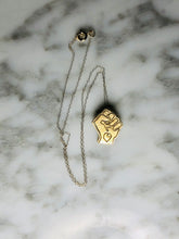 Load image into Gallery viewer, Black Power Fist Pendant