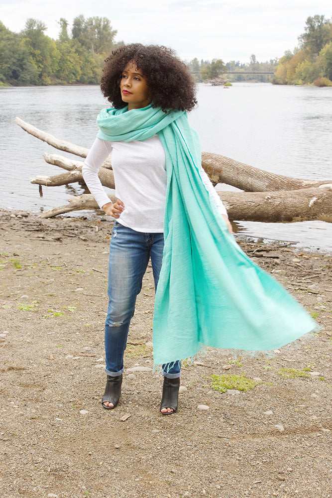 Ethiopian Cotton Gabi Body Shawl