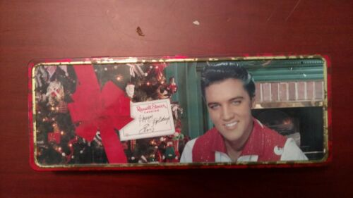 Elvis Presley Russel Stover Christmas Tin Collectible
