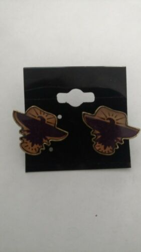 Harry Potter Purple Bird stud earrings