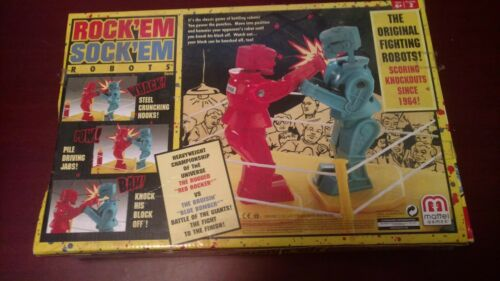 Rock Em Sock Em Robots 2001 Classic Boxing Vintage Toy Game