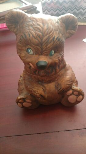 Bear By Gilner Pottery Cookie Jar