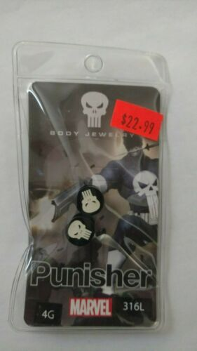 Punisher Licensed Ear Plugs various sizes
