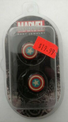 Marvel's Captain America Shield Licensed Ear Plugs various sizes