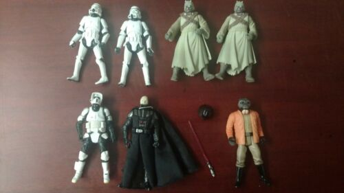 Lot of Star Wars Figures