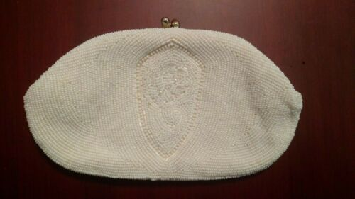 Vintage Sead Beaded Clutch Purse