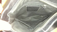 COACH Black Leather Soho Slim Duffle Shoulder Bag Style #1453