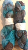 Undertow, Moon Shine  Camo© yarns sock weight