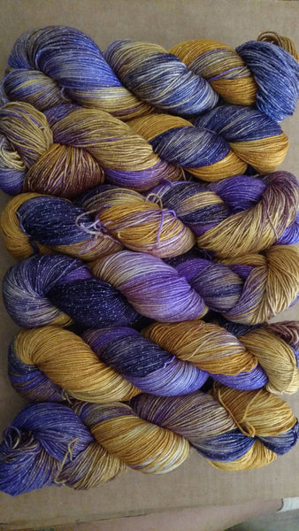 Rapunzel Disney Princess,410yds, sock yarn