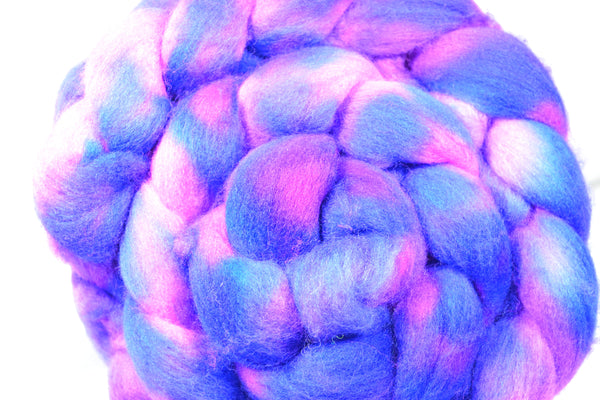Cotton Candy, Polworth Wool and Silk