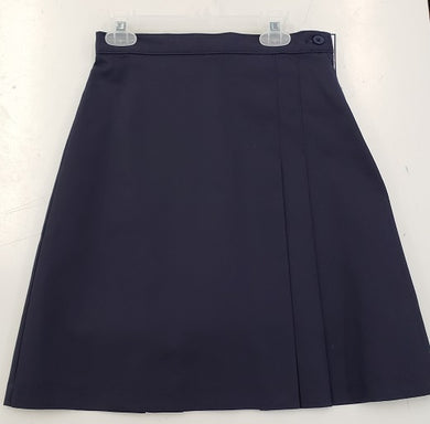 LADIES PLUS SIZE PLEATED SKORT