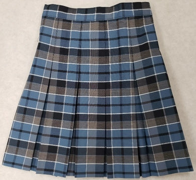 GIRLS PLUS SIZE PLAID SKIRT