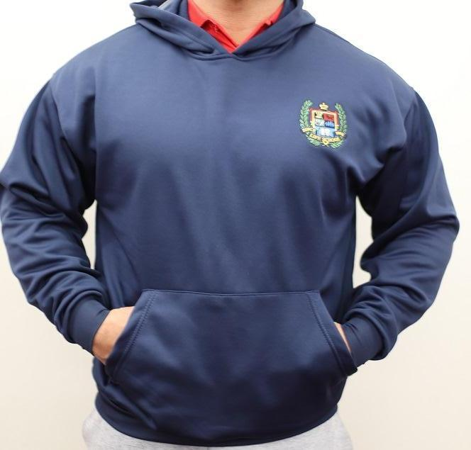 ADULT PERFORMANCE PULLOVER FLEECE HOODY W/LOGO