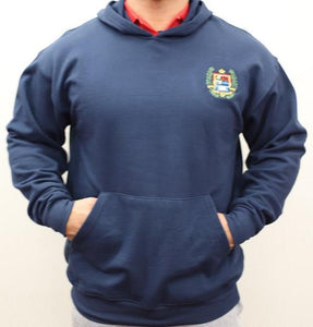 ADULT HOODED FLEECE PULLOVER SWEATSHIRT W/LOGO