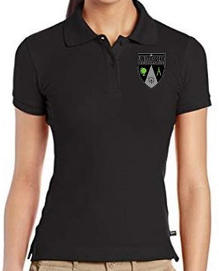 JUNIOR SHORT SLEEVE POLO W/LOGO