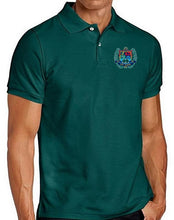 Load image into Gallery viewer, MENS SHORT SLEEVE COTTON POLO W/LOGO - SEC