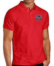 Load image into Gallery viewer, MENS SHORT SLEEVE COTTON POLO W/LOGO - ELEM