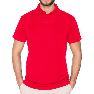 MENS SHORT SLEEVE PERFORMANCE POLO