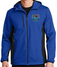 Load image into Gallery viewer, MENS ACTIVE HOODED SOFTSHELL JACKET W/LOGO