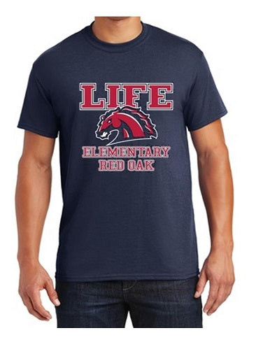 ADULT FRIDAY SHIRT - LIFE RED OAK