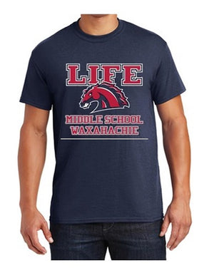 ADULT FRIDAY SHIRT - LIFE WAXAHACHIE MIDDLE SCHOOL