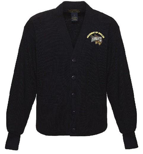 ADULT CARDIGAN SWEATER W/LOGO