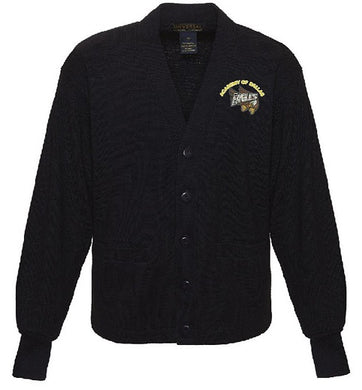 YOUTH CARDIGAN SWEATER W/LOGO