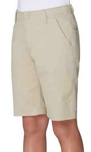 BOYS FLAT FRONT PERFORMANCE SHORTS (MIDDLE SCHOOL ONLY)