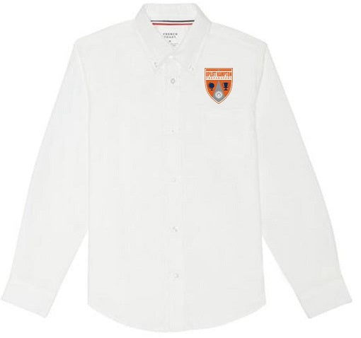 BOYS LONG SLEEVE OXFORD W/ LOGO