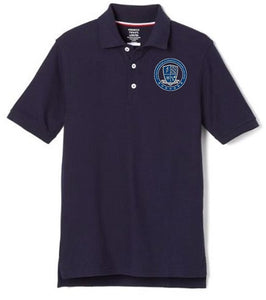 BOYS SHORT SLEEVE POLO W/ LOGO (6TH GRADE ONLY)