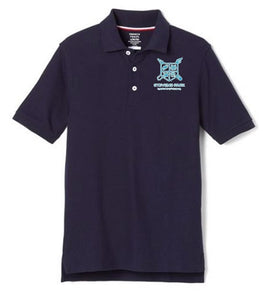 BOYS SHORT SLEEVE POLO W/ LOGO