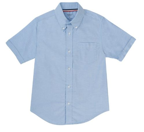 BOYS SHORT SLEEVE OXFORD SHIRTS