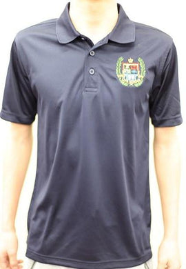 BOYS SHORT SLEEVE PERFORMANCE POLO W/LOGO - ELEM