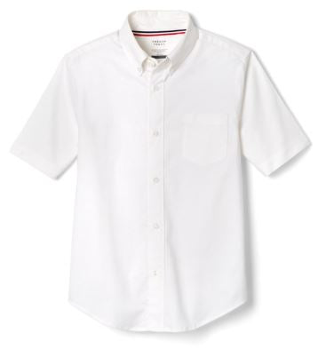 BOYS SHORT SLEEVE OXFORD