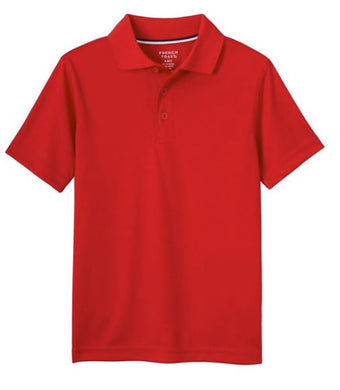 GIRLS SHORT SLEEVE SPORT POLO