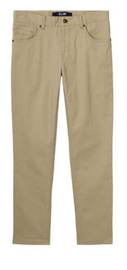 BOYS SLIM FIT STRETCH 5 POCKET PANT