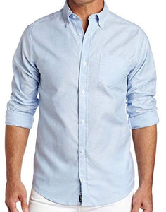 MENS LONG SLEEVE OXFORD SHIRT