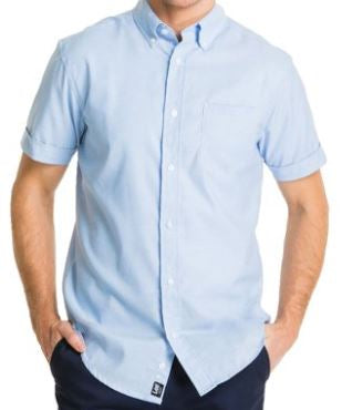 MENS SHORT SLEEVE OXFORD SHIRT