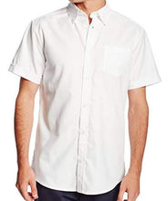 Load image into Gallery viewer, MENS SHORT SLEEVE OXFORD SHIRT