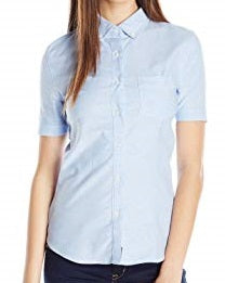 JUNIORS SHORT SLEEVE OXFORD